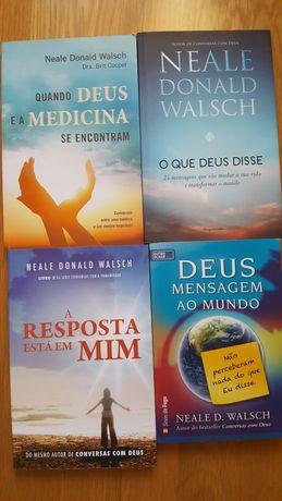 Vários livros  de Neale D. Walsch