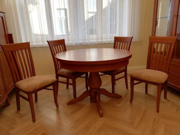 Stół do jadalni + cztery krzesła