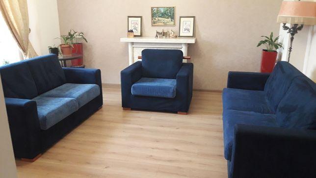 Комплект итальянской мягкой мебели. Диваны 2+3+ 1