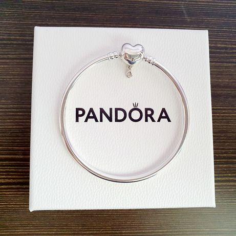 Nowa Bransoletka bangle Pandora Moments 17