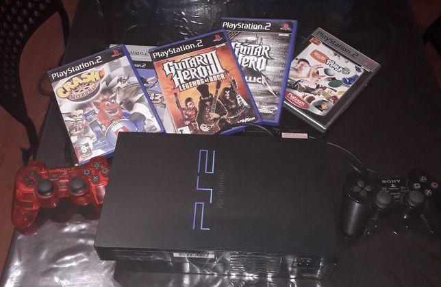PlayStation 2 com mais de 30 jogos