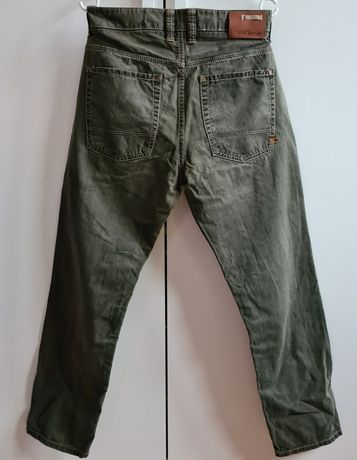 Camel Active męskie jeansy 34x30 Vintage khaki travel