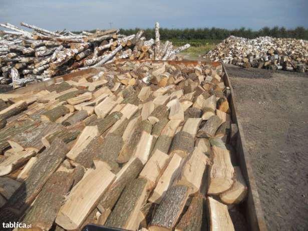 grube drewno kominkowe dostawa gratis Szczecin Police