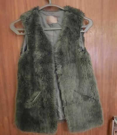 Colete Pêlo Zara Inverno Menina