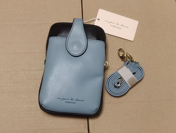 Красивая маленькая сумочка кроссбоди через плечо для телефона клатч