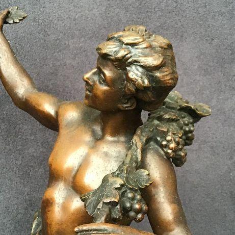 Piękna Figura Charles Octave Lévy Brąz 45cm. XIX