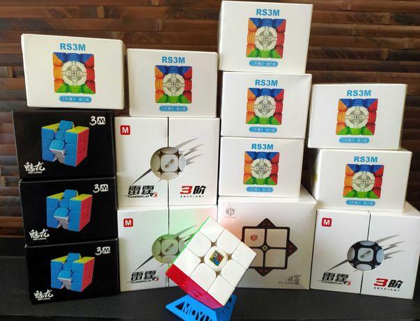 ШОК ЦЕНА !  Магнитный кубик рубика MoYu RS 3M 2020 ! и другие.
