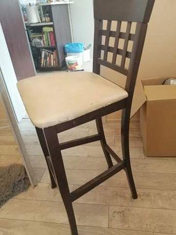 Sprzedam dwa krzesła barowe