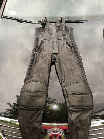 Spodnie skórzane na motocykl Echtes Leder