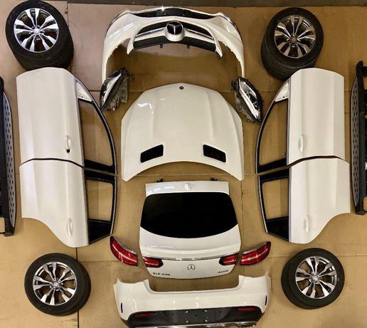 Двери, капот, бампер, фары, пороги и другие детали GLE 400 Coupe
