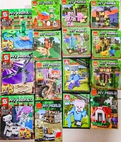 PROMOCJA minecraft różne rodzaje w pełni kompatybilne z Lego