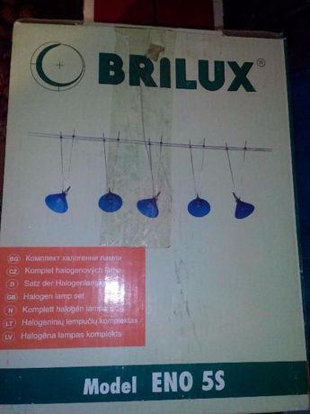 Cветильник потолочный BRILUX ENO 5S синий