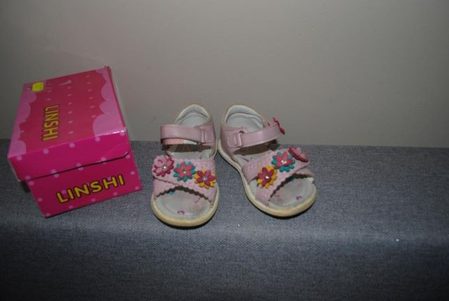 55-> sandałki sandały LINSHI r.22 13cm
