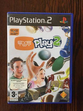 Jogo Playstation 2 - Eye Toy Play 2