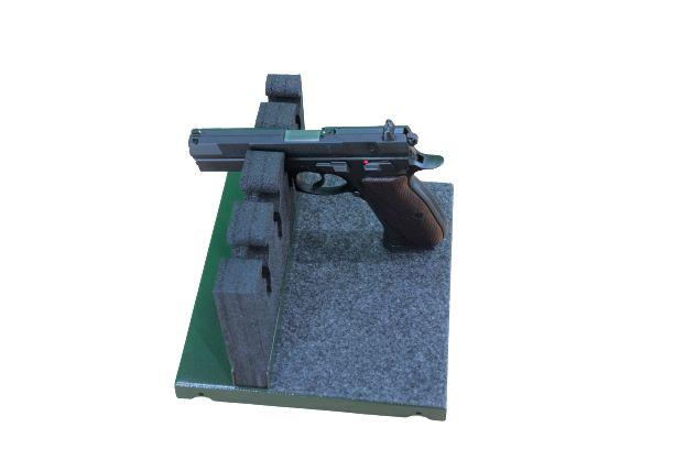 Półka na broń krótką - pistolet, do szafy na broń NOVCAN