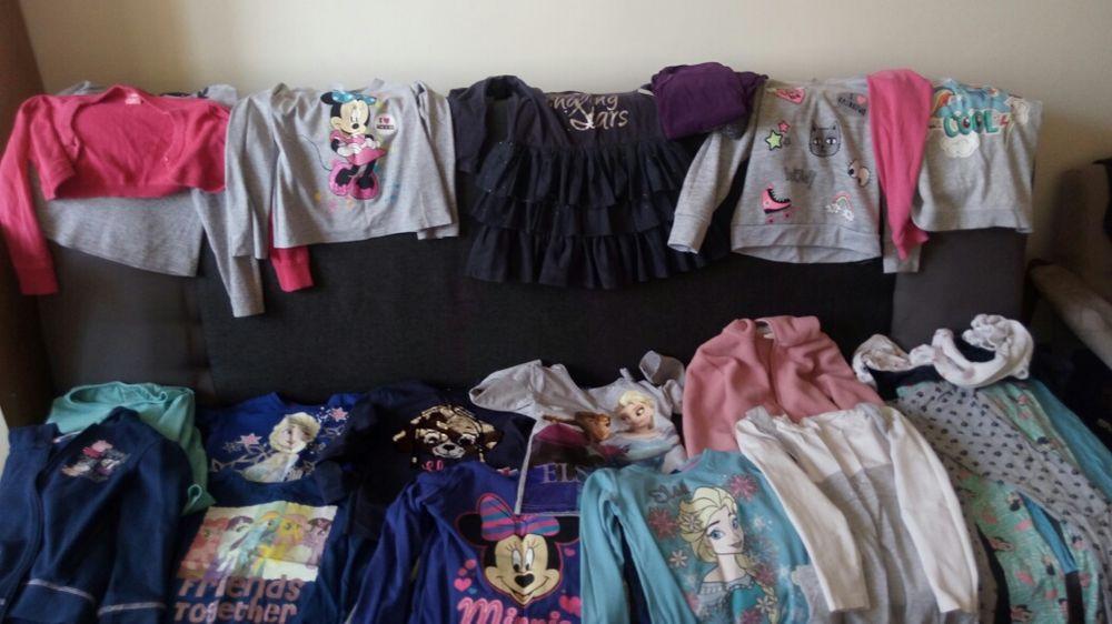 Duży zestaw dla dziewczynki od 110 do 122 rozmiar Sandomierz - image 1