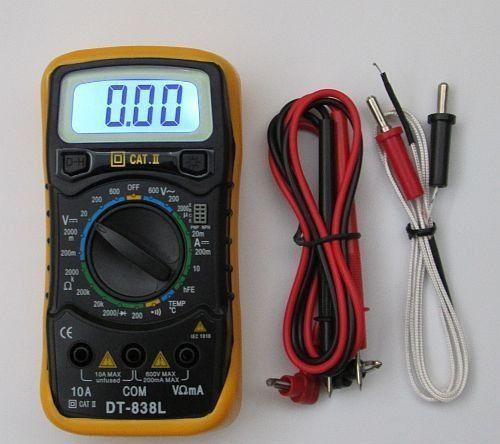Мультиметр DT838L цифровой