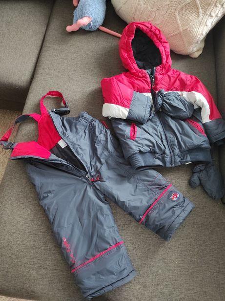 Kombinezon spodnie śniegowce r. 86 cocodrillo