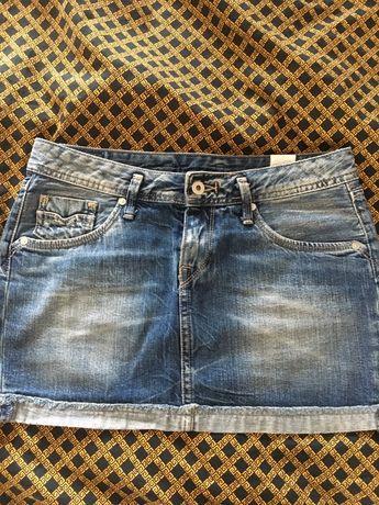 Spodnica mini pepe jeans S 400zl igla