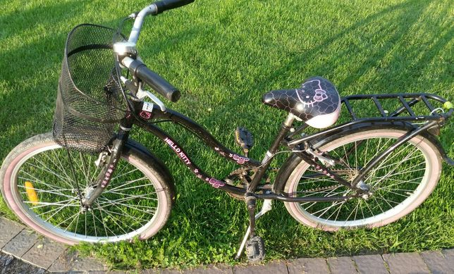 Sprzedam rower dla dziewczynki hello kitty