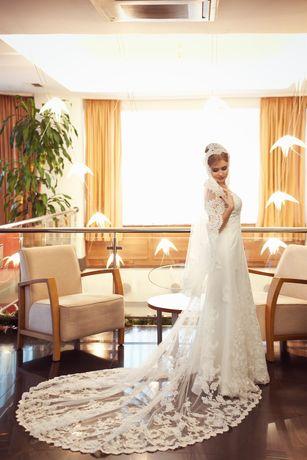 Продам свадебное платье,привезенное с Франции