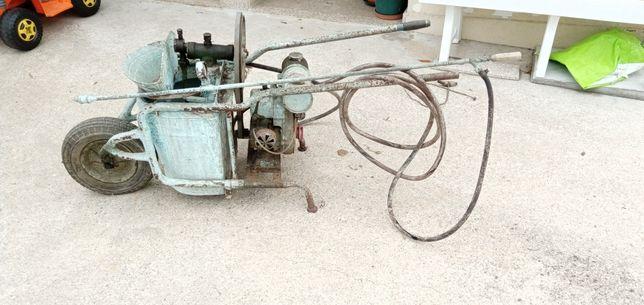 Máquina sulfatar