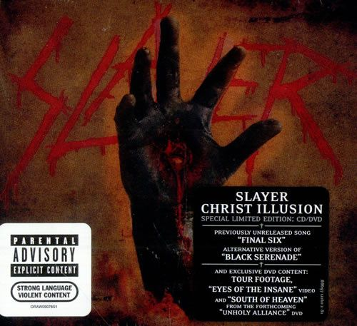 Slayer - Christ Illusion - Special Limited Digibook Edition CD/DVD
