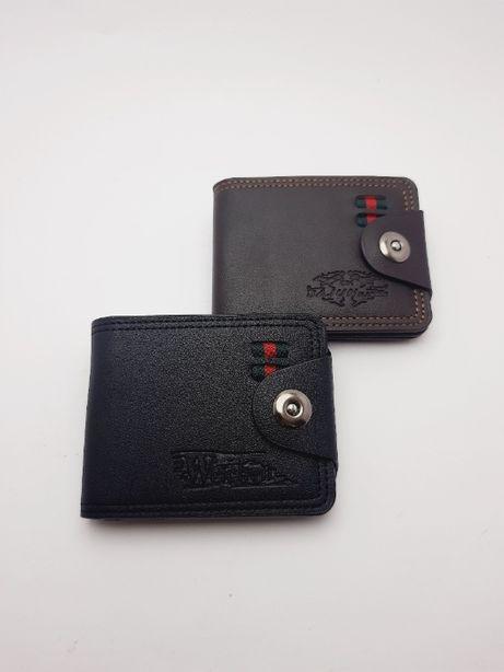 Мужской кошелек с визитницей