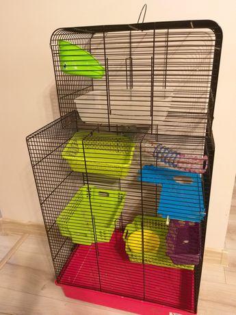 Duża klatka na gryzonie lub papugę sprzedaż lub zamiana