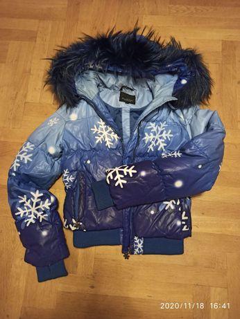 Куртка зимняя рост 140- 146 см