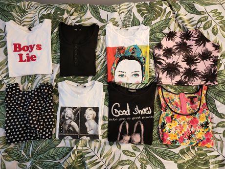 Zestaw t-shirtow damskich