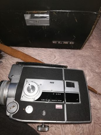 Kamera Elmo c200 plus torba skórzana