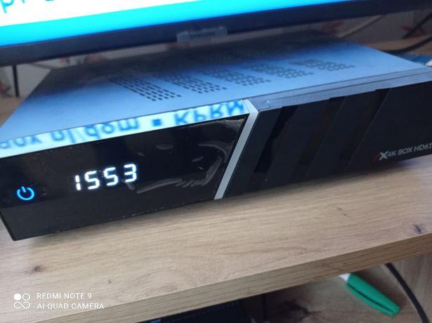 Tuner SAT 4K BOX HD61