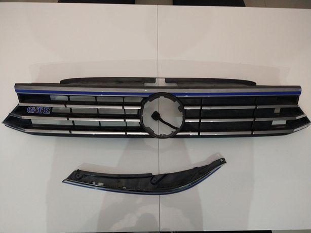 Grill atrapa Passat B8 GTE elektryczny