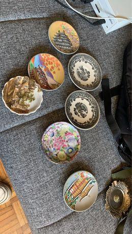 Pratos orientais colecionaveis