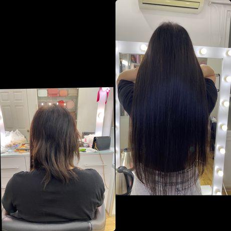 Наращивание волос - 1000 грн