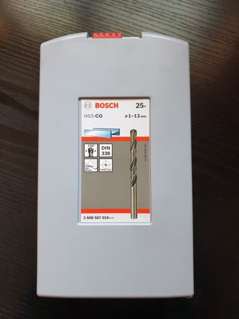 Zestaw wierteł do metalu Bosch HSS-CO 25szt