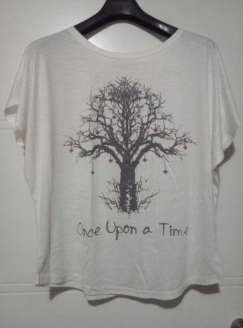 ROMWE nowy damski T-shirt koszulka rozmiar uniwersalny one size