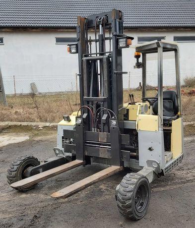 Terberg TKL 3x3 M podwieszany terenowy wózek widłowy do tira