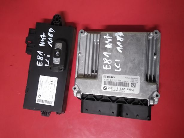 BMW E84 X1 18d N47 E87 E81 118D E90 318D komputer silnika cas klucz