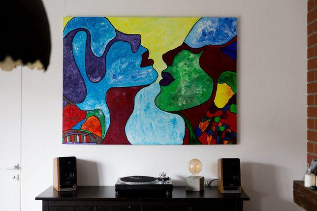Obraz na płótnie DUŻY 110x150 cm Akryl - współczesny, pop art