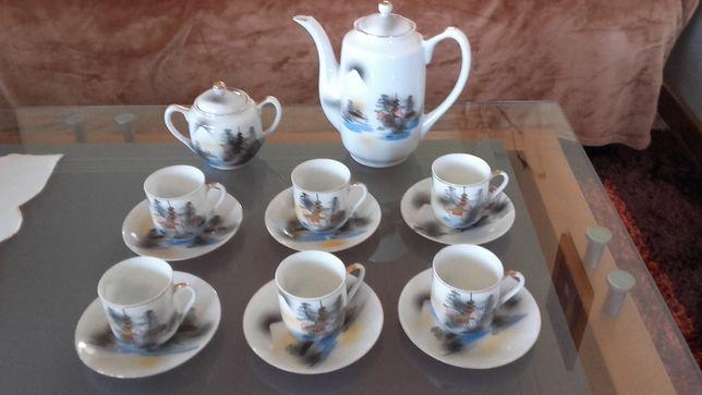 Serviço de café chinês