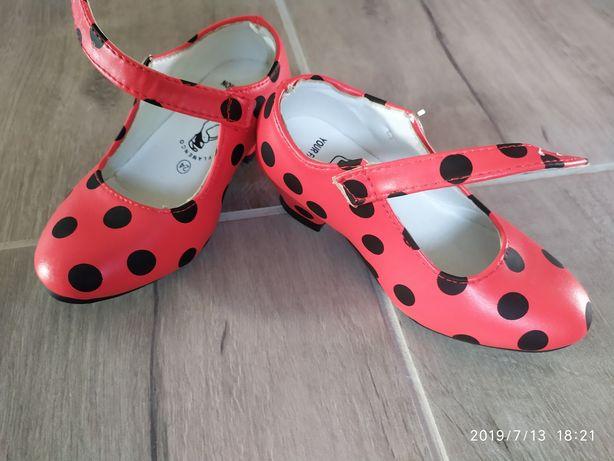 Hiszpańskie buciki dla dziewczynki roz 24