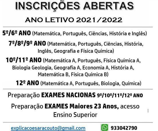 Explicações Portimão Mat Port BioGeo FQ...