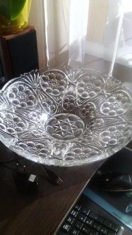 Кришталеве ваза для фруктів, цукерок