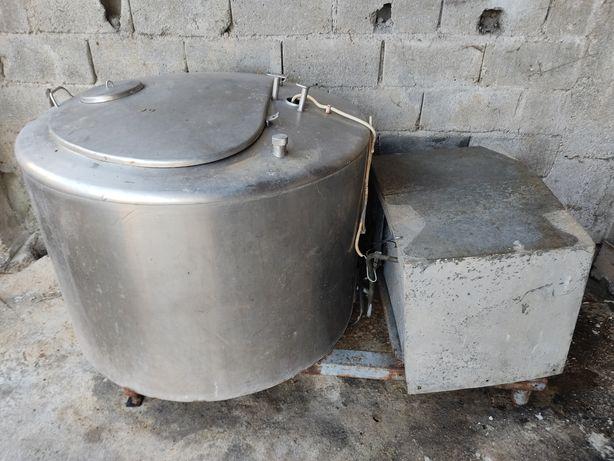 Tanque de leite refrigerado