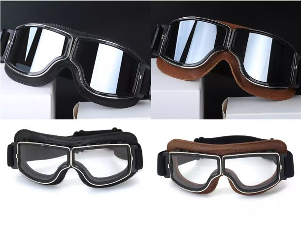 Óculos clássicos moto cafe racer scrambler