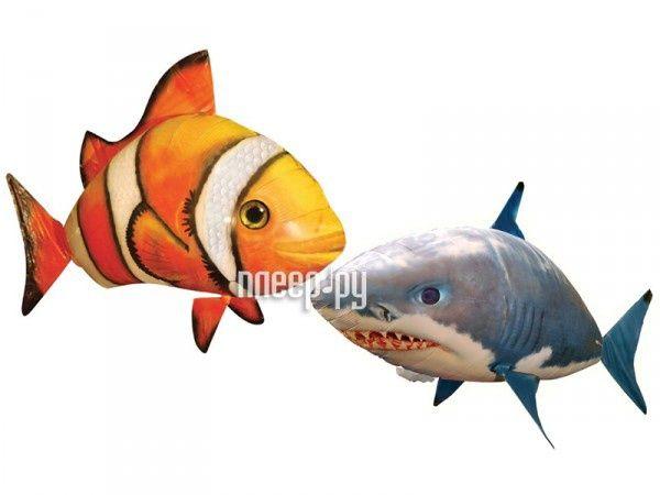 Игрушка радиоуправление надувная рыба Клоун и Акула