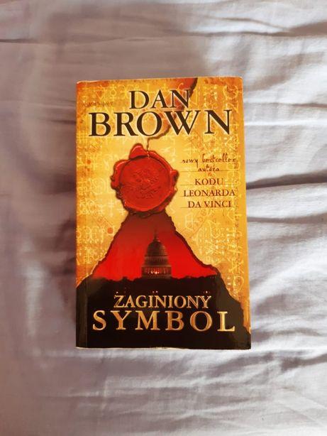 """Zaginiony symbol"" Dan Brown - książka"
