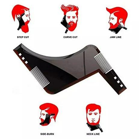 Pente modelar barba